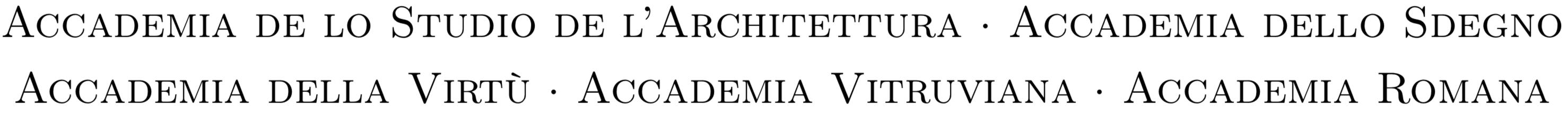 Accademia Romana